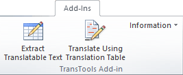 TransTools for Visio add-in